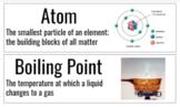 Measurement & Matter Vocab Cards