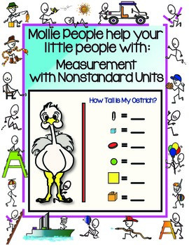 Measurement With Non-Standard Units:  Measure My Ostrich!!