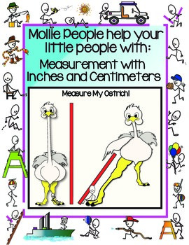 Measurement:  Measure My Ostrich with Inches and Centimeters!
