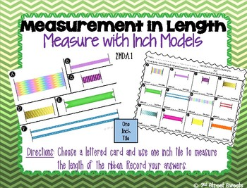 Measurement: Measure with One Inch Tile Center - GO MATH! Chapter 8
