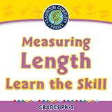 Measurement: Measuring Length - Learn the Skill - NOTEBOOK Gr. PK-2