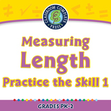 Measurement: Measuring Length - Practice the Skill 1 - NOTEBOOK Gr. PK-2