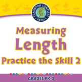 Measurement: Measuring Length - Practice the Skill 2 - PC Gr. PK-2