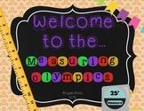 Measurement {Measuring Olympics FREEBIE}