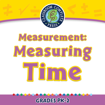 Measurement: Measuring Time - PC Gr. PK-2