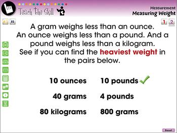 Measurement: Measuring Weight - NOTEBOOK Gr. PK-2