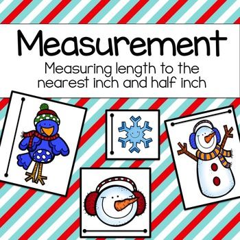 Measurement: Measuring to the Nearest Inch and Half Inch