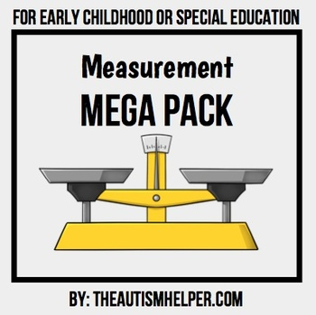 Measurement Mega Pack for Special Education