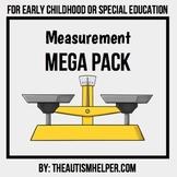 Measurement Mega Pack for Special Education