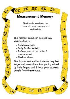 Measurement Memory