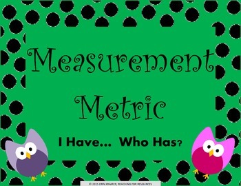 Measurement Metric