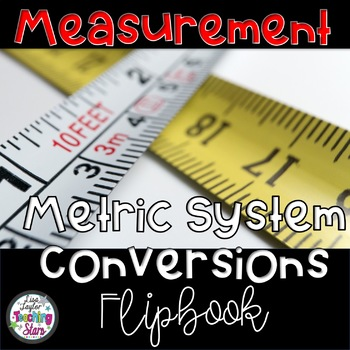 Measurement Metric Conversion Flip Book