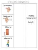 Measurement-- Metric Length Foldable