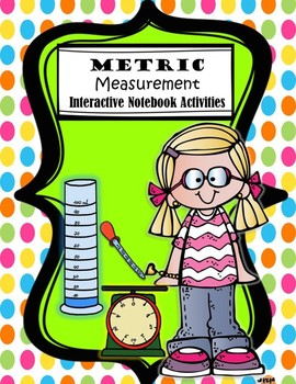 Measurement: Metric System Interactive Notebook set.