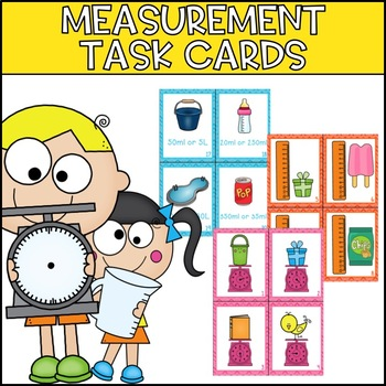 Measurement Metric Task Cards