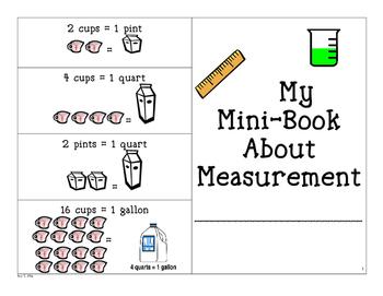 Measurement Mini Book