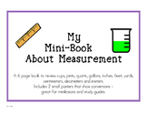 Measurement Mini Book