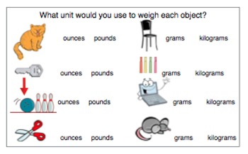 Measurement Student Booklet, Vocabulary Sorting Cards, and Notebook File
