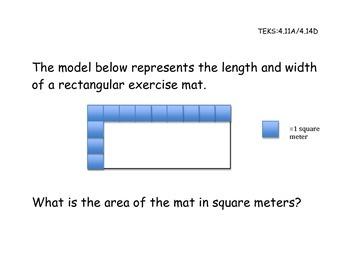 """Measurement """"Mock STAAR"""" Questions"""