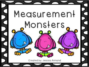 Measurement Monster - inches and centimeters