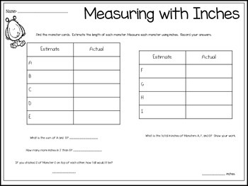 Measurement Monsters