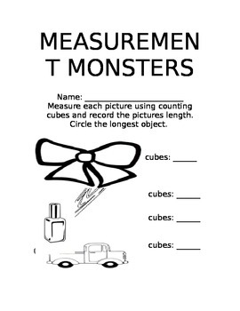 Measurement Monsters