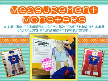 Measurement Monsters: Linear Measurement Review w/ a Fun & Creative Project