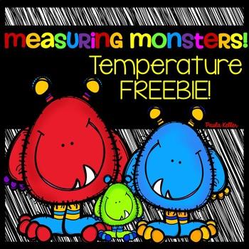 Measurement Monsters Temperature FREEBIE!