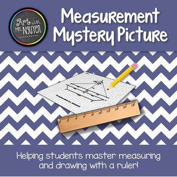Measurement Mystery Picture: Sailboat (Centimeters)