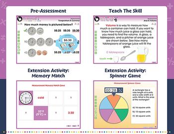Measurement - NOTEBOOK Gr. PK-2