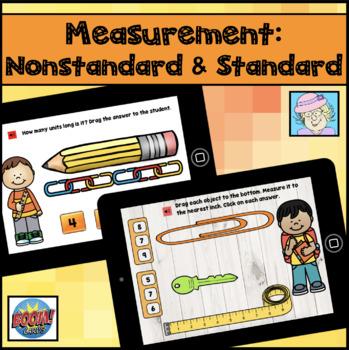Nonstandard Measurement Boom Cards