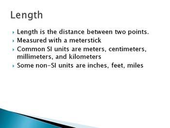 Measurement Notes