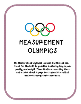 Measurement Olympics