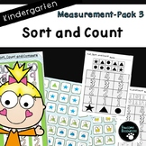 Measurement Pack 3-Sort and Count (Kindergarten, K.MD.3)