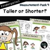 Measurement Pack 4-Taller or Shorter (Kindergarten-K.MD.1 and K.MD.2)