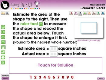 Measurement: Perimeter & Area - Learn the Skill - PC Gr. 3-5