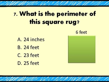 Measurement & Perimeter PPT