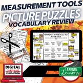 Measurement Picture Puzzle Study Guide Test Prep