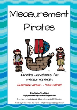 Measurement Pirates - Australian Version (centimetres).