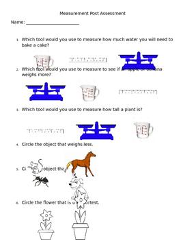 Measurement Post Assessment