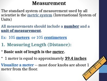 Measurement Power Point