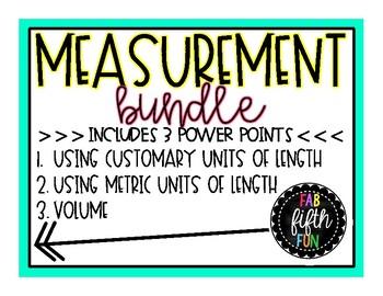 Measurement Power Point BUNDLE