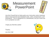 Measurement PowerPoint - 2nd Grade
