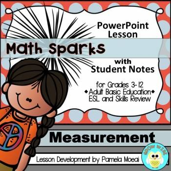 Measurement PowerPoint and Student Notes Newly Revised