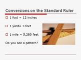 Measurement Powerpoint lesson