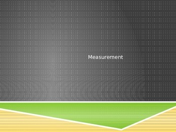 Measurement Powerpoint - shorter and longer