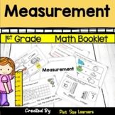 Measurement Journals for First Grade