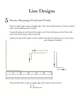 Measurement Practice: Creating Art [inches]