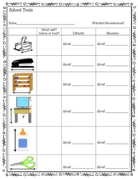 Measurement Practice Pack