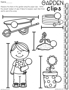 Measurement Practice Pages First Grade
